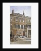View of no 24 Cheyne Row, Chelsea, London by John Crowther