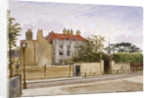 View of Turret House, Lambeth, London by