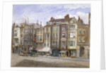 View of commercial premises in the Strand, Westminster, London by John Crowther