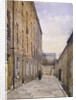 View of Marshalsea Place, Southwark, London by John Crowther