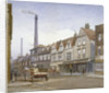 View of Mint Street, Southwark, London by John Crowther