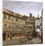 The George Inn, Borough High Street, Southwark, London by John Crowther