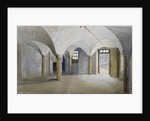 Interior view of Queen's Bench Prison, Borough High Street, Southwark, London by