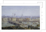 London Bridge and the City of London by John Crowther