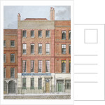 Eastey's Family Hotel, Southampton Street, Westminster, London by Anonymous