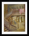 Staircase at Wandsworth Manor House, St John's Hill, Wandsworth, London by