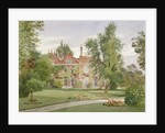 Side view of Raleigh House, Brixton Hill, Lambeth, London by