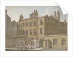 The Treasury, Whitehall, Westminster, London by Robert Blemmell Schnebbelie