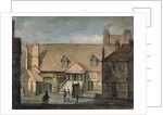 View of barracks in Scotland Yard, Whitehall, Westminster, London by Anonymous