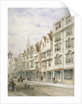 Wych Street, Westminster, London by Thomas Hosmer Shepherd