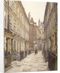View of Catherine Court, Tower Hill, London, looking east by John Crowther