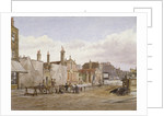 Skinners' Almshouses and Trinity Almshouses, Mile End Road, Stepney, London by John Crowther