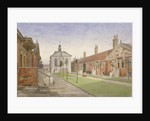 Trinity Almshouses and Trinity Chapel, Mile End Road, Stepney, London by John Crowther
