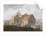South-east view of the church of St Mary Magdalene, Richmond, Surrey by Anonymous