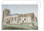 South-east view of All Saints Church, Edmonton, Enfield, London by Anonymous