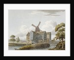 View of West Ham Mills by the River Lea, West Ham, Newham, London by Anonymous