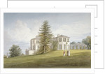 South-west view of Bromley Hill, Bromley, Kent by John Buckler