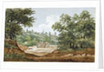 View from the excavations of Highgate Tunnel, London by George Arnald