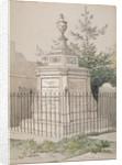 William Hogarth's tomb in St Nicholas' churchyard, Chiswick, Hounslow, London by