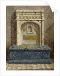 Tomb of Gregory Lovell, churchyard of St Peter and St Paul, Harlington, Middlesex by Anonymous