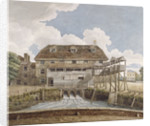 View of a flour mill at Isleworth, Middlesex by Anonymous