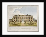 The west front of Shrewsbury House, Isleworth, Middlesex by Anonymous