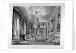 Interior view of the west ante-room in Carlton House, Westminster, London by
