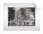 The Promenade in St James's Park, Westminster, London by Anonymous
