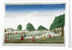 People walking in St James's Park, Westminster, London by Anonymous