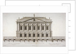 Elevation of Buckingham House, St James's Park, Westminster, London by Matthew Darly