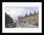 Skinners' Almshouses, Mile End Road, Stepney, London by Thomas Hosmer Shepherd