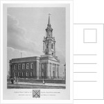 North-west view of St Paul's Church, Shadwell, London by Thomas Dale