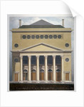 The new Theatre Royal, Haymarket, Westminster, London by Robert Blemmell Schnebbelie