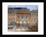 The first Opera House (King's Theatre), Haymarket, Westminster, London by William Capon