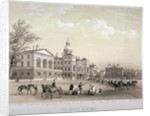 Horse Guards, Westminster, London by Thomas Picken