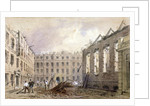 The demolition of Lyon's Inn, Westminster, London by William Henry Prior