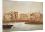 Wharves at Limehouse, London by Frederick J Goff