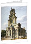 Church of St Anne, Limehouse, London by John Coney