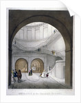 Entrance to the Thames Tunnel at Wapping, London by Anonymous