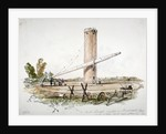 The great telescope erected on Wandsworth Common, London by Anonymous