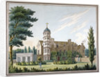 View of Clapham Manor House and its garden, Clapham, London by Anonymous
