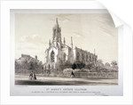 North view of the Church of St James, Clapham, London by CJ Greenwood