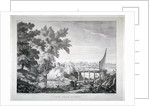 View near Putney, with the River Thames in the background, Wandsworth, London by