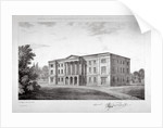 View of the Royal Asylum of St Ann's Society to be erected on Streatham Hill, London by