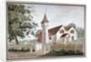North-west view of the Church of St Nicholas, Tooting, Wandsworth, London by