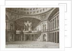 Interior of the Pantheon, Oxford Street, Westminster, London by William Angus