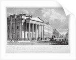 The Royal College of Physicians, Pall Mall East, Westminster, London by Thomas Barber