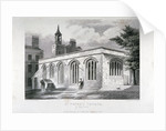 Chapel of of St Peter ad Vincula, Tower of London by John Le Keux