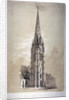 Tower of the Church of St Matthew, Great Peter Street, Westminster, London by Day & Son