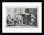 The Lord Mayor [Brass Crosby] and Alderman Oliver, imprisoned in the Tower of London by Anonymous